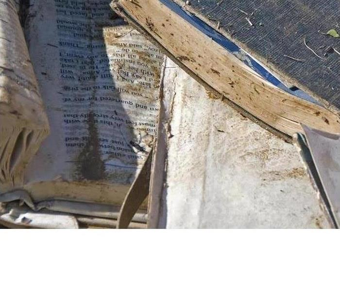 Water Damage Devastated over your water damaged Family Bible or important papers?